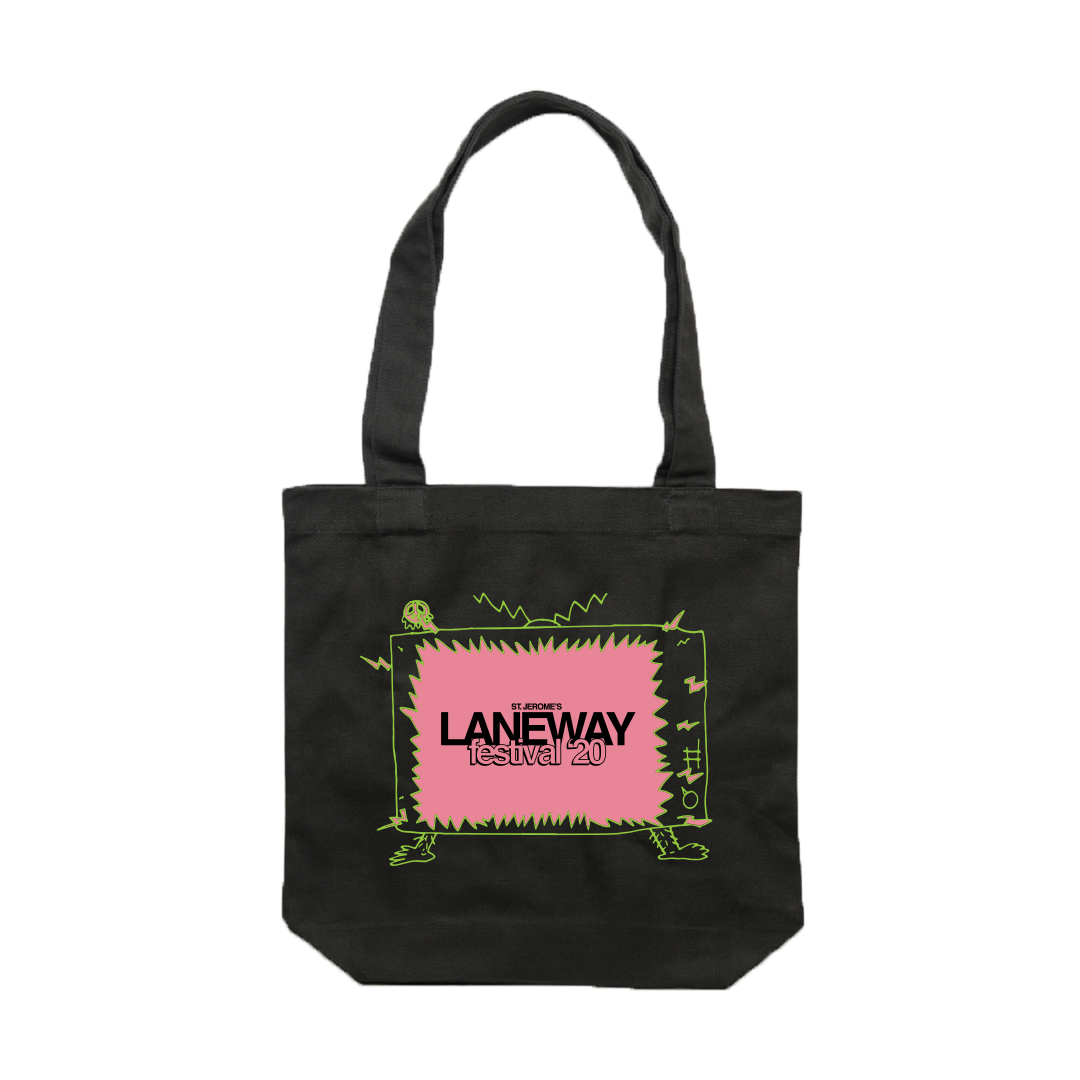 TV Tote (Black)