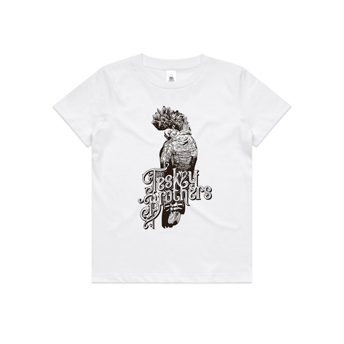 Cockatoo Kids Tee (White)