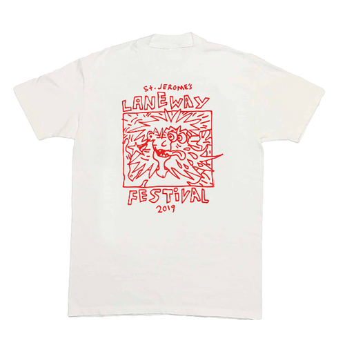 Jack Irvine Psyched Tee (White)