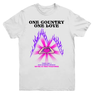 One Country One Love Tee (White)