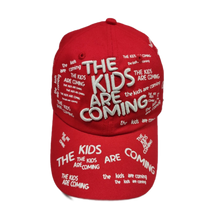 Load image into Gallery viewer, The Kids Are Coming Cap (Red)