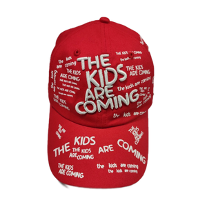 The Kids Are Coming Cap (Red)