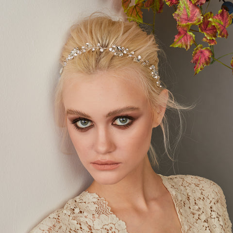 EVELINE HEADPIECE (Silver)