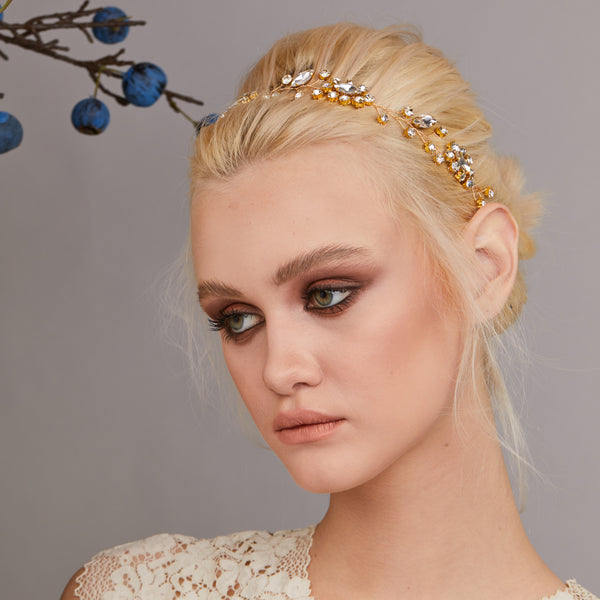 EVELINE HEADPIECE (Gold)