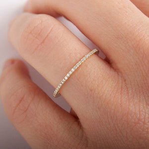 ETERNITY BAND - Gold Color