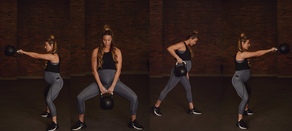 maternity exercises - duoFit Maternity Activewear