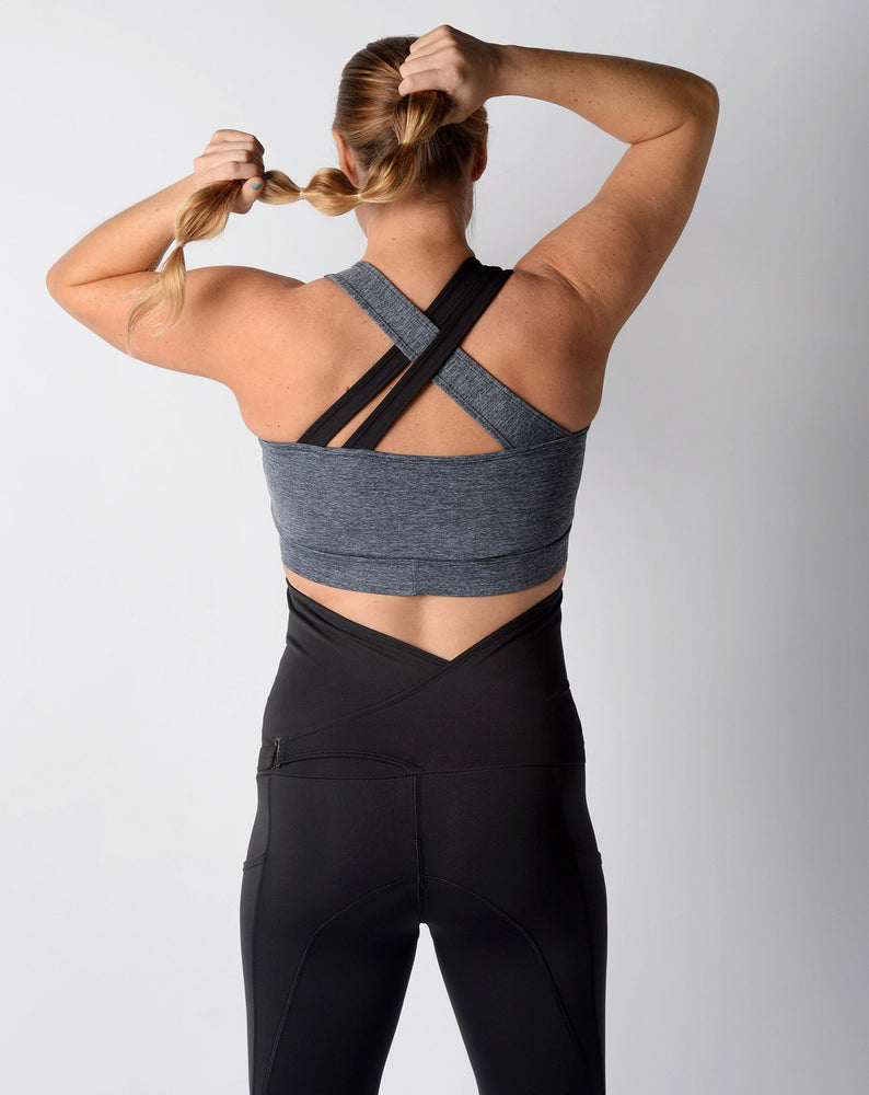 Everyday Nursing Sports Bra Grey