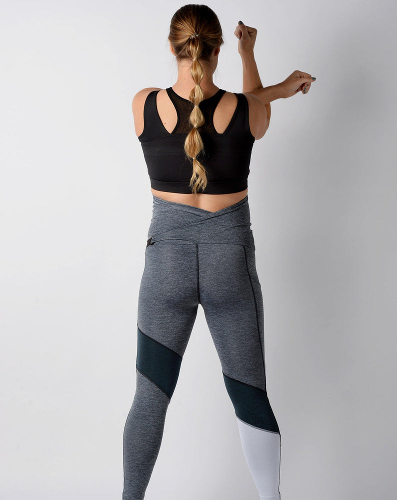 Kace Race Day Leggings Grey