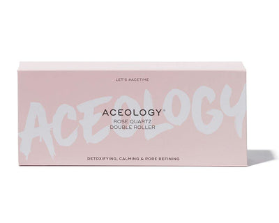 Aceology Rose Quartz Double Roller Box