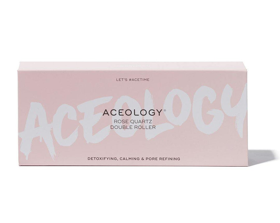 Aceology Rose Quartz Double Roller