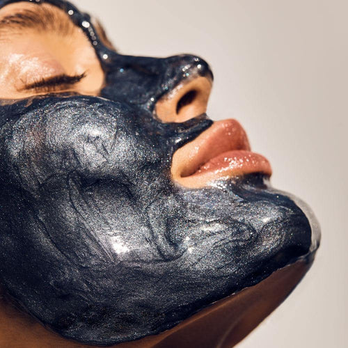 Aceology Detoxifying Modeling Face Mask on Model