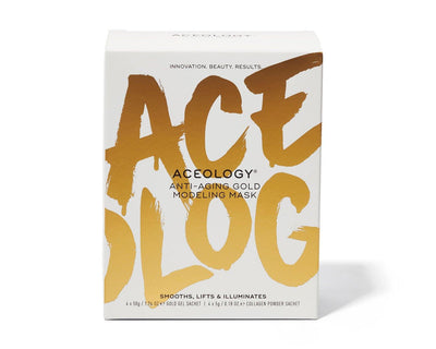 Aceology Anti-Aging Gold Modeling Mask Product Box