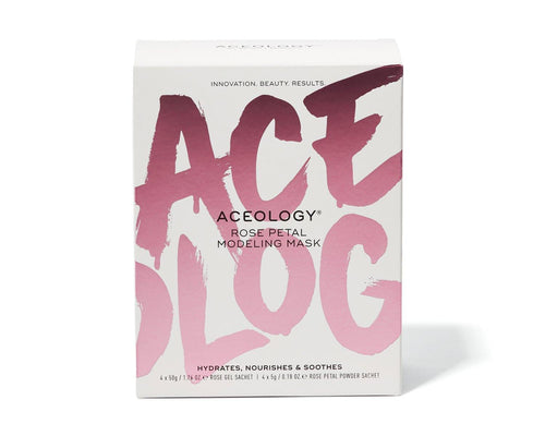 Aceology Rose Petal Modeling Mask Box