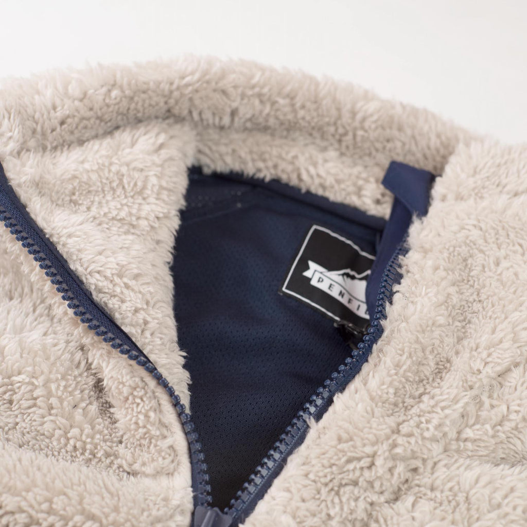 PENFIELD WMNS BREAKHEART HI-LOFT ZIP THROUGH FLEECE - MATE
