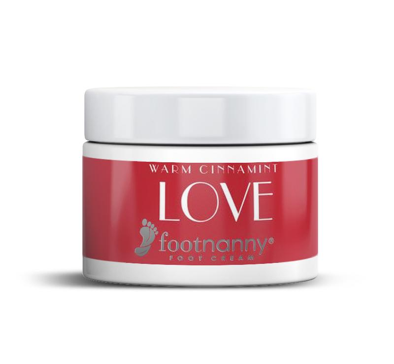 LOVE Cinnamint Foot Cream