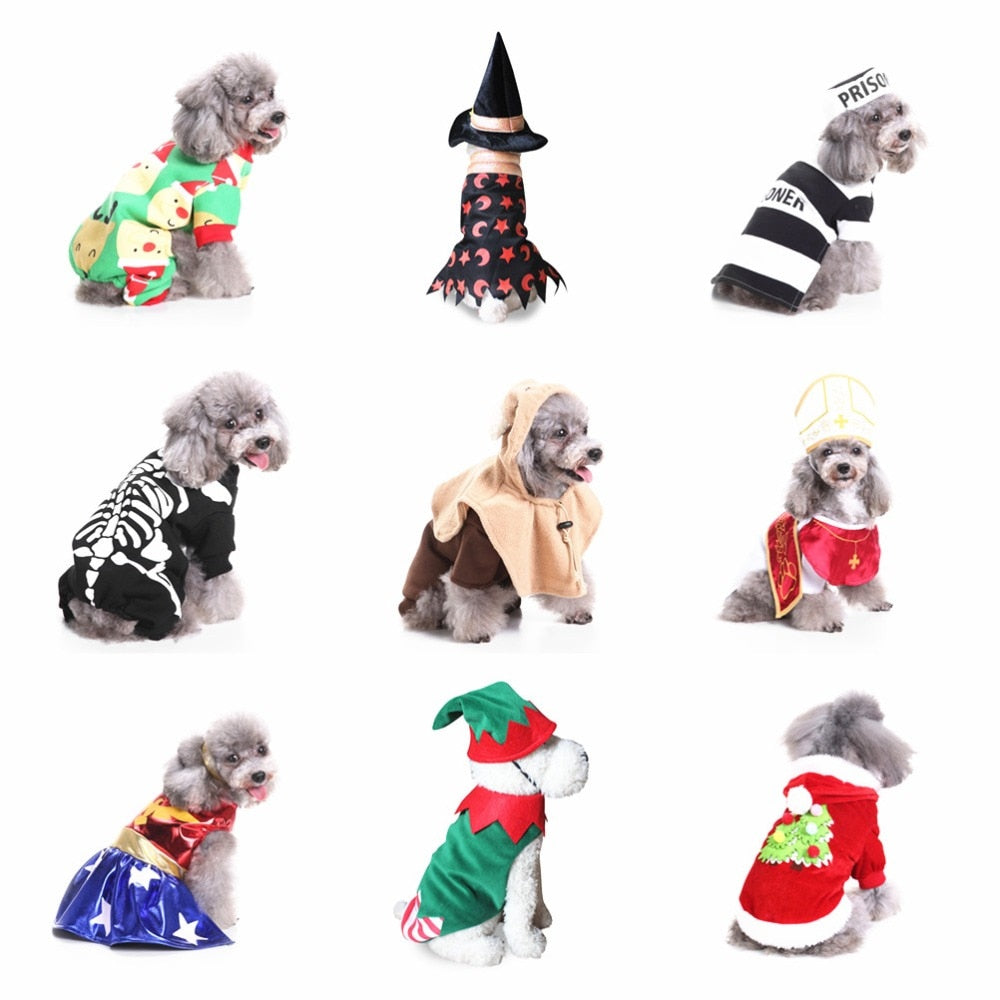 Pet Transfiguration Dog Clothing Jackets Dog Halloween Costume Pet Dog Clothes Christmas For Small Dogs Coat Jacket Dropshipping