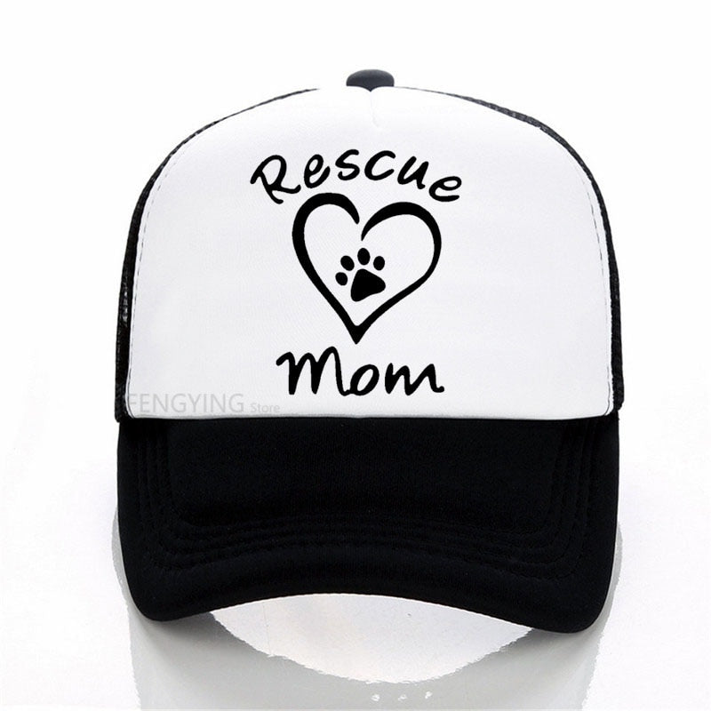 Rescue Mom Baseball Cap