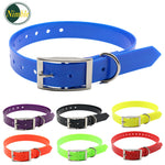 NIMBLE Adjustable Dog Collars TPU+Nylon Collar For Small Large Dogs Collar Training Outdoor Comfortable Necklace For Pet Product