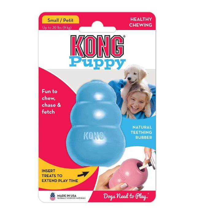 XS-L KONG Puppy Dog Toy with Your Choice of Dog Treat