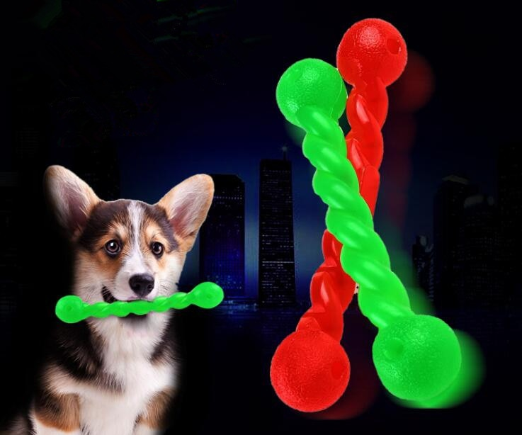 Dog Toy Rubber Toys for Dog Funny Games Interactive Pacifier Bone Puppy Dog Accessories Strong Bite-Resistant Cleaning Chewing