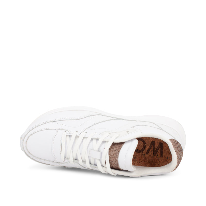 WODEN Sophie Leather Sneakers 300 Bright White