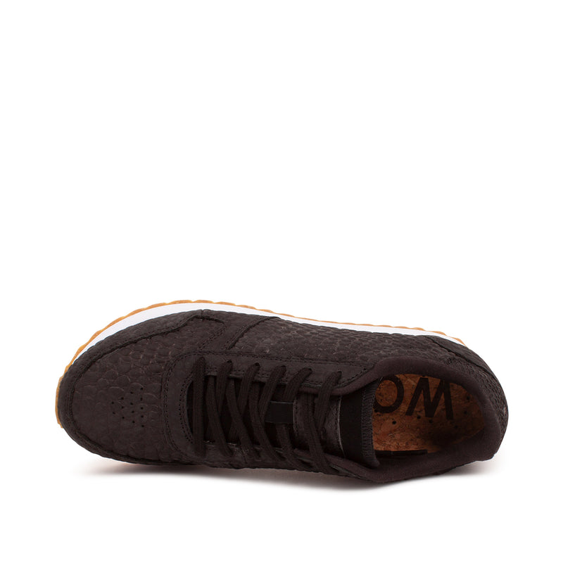 WODEN Ydun Croco II Sneakers 020 Black