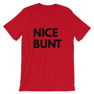 Nice Bunt Baseball T-Shirt | Baseball Shirt | Spring Training Shirt | Sports Shirt | Funny Baseball Shirt