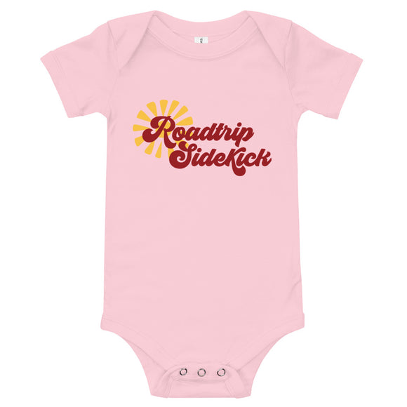 Roadtrip Sidekick Infant Bodysuit | Roadtrip Shirt | Baby Outfit | Baby Shower Gift