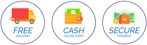 Image result for cash on delivery trust badge""