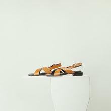 Load image into Gallery viewer, Beyon - Criss cross sandals with an adjustable ankle strap