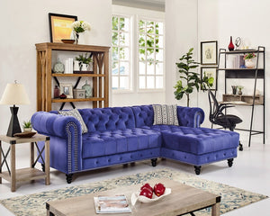 Twins Furniture Sectional w/ Ottoman
