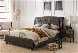 Twins Furniture Queen Upholstery Bed Frame
