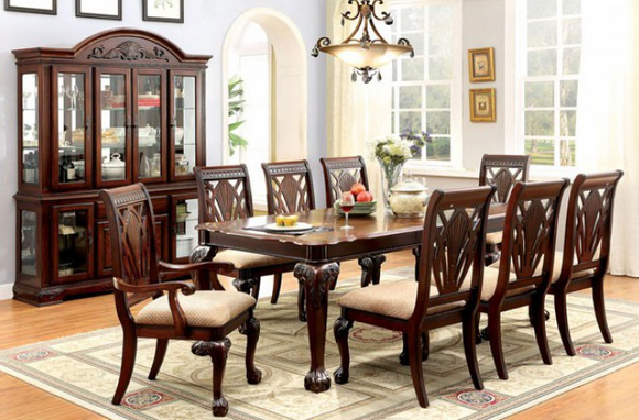 Twins Furniture 9 Pcs Dining Set