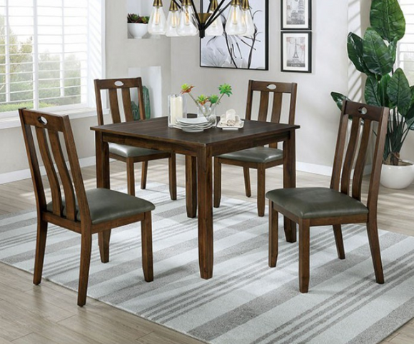 Twins Furniture 5 Piece Dining Set