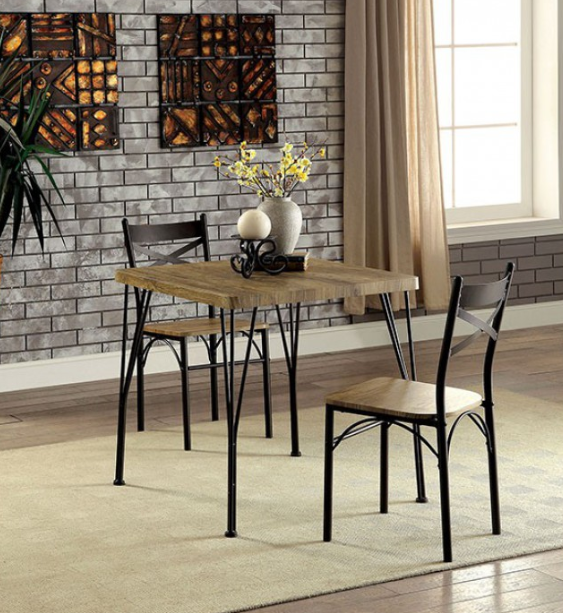 Twins Furniture 3 Piece Dining