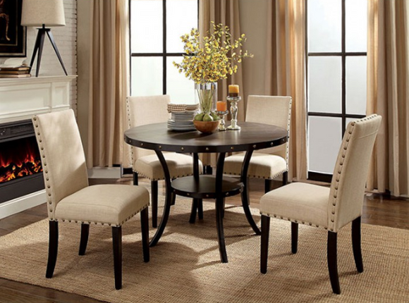 Twins Furniture 5 Piece Dining