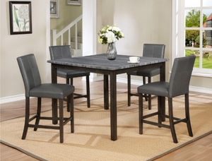 Twins Furniture 5 Pc Dining Set