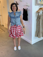 Check out Kim in her new outfit!
