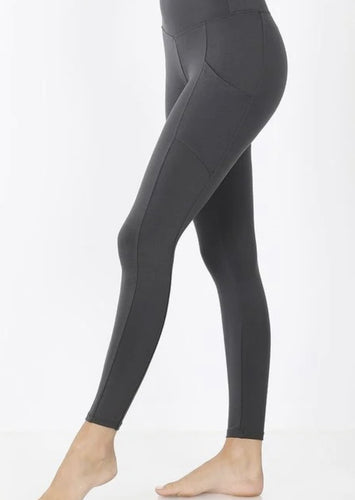Gray Athletic Leggings