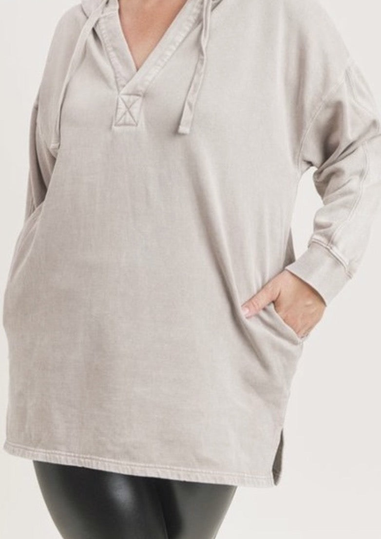 Mineral Washed Tunic