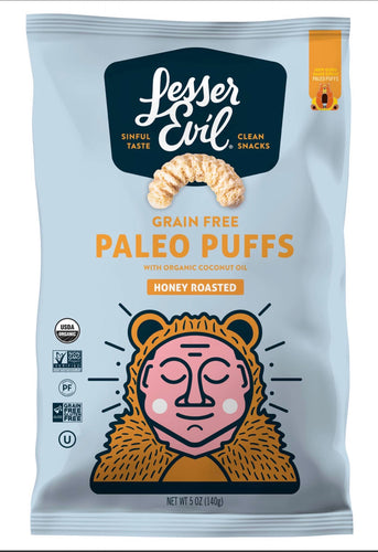 Honey Roasted Paleo Puffs From Lesser Evil