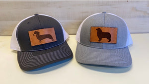 Aussie Leather Patch Trucker Hat