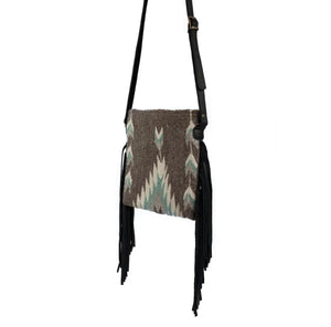 Smoky Quartz Fringe Bag
