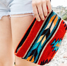 Load image into Gallery viewer, Scarlet Arrow Wristlet Clutch