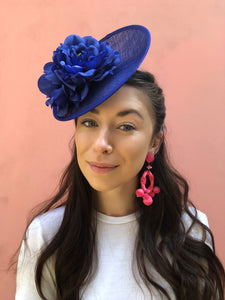 Mia & Small Saucer Fascinator