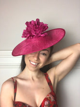 Load image into Gallery viewer, Mia & Large Saucer Hat