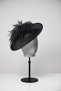 Grace & Large Saucer Hat