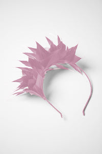 Eva Feather Crown Headband