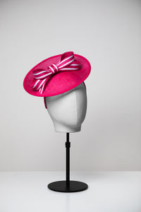 Rose & Medium Saucer Hat