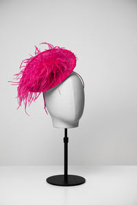 Grace & Small Saucer Fascinator